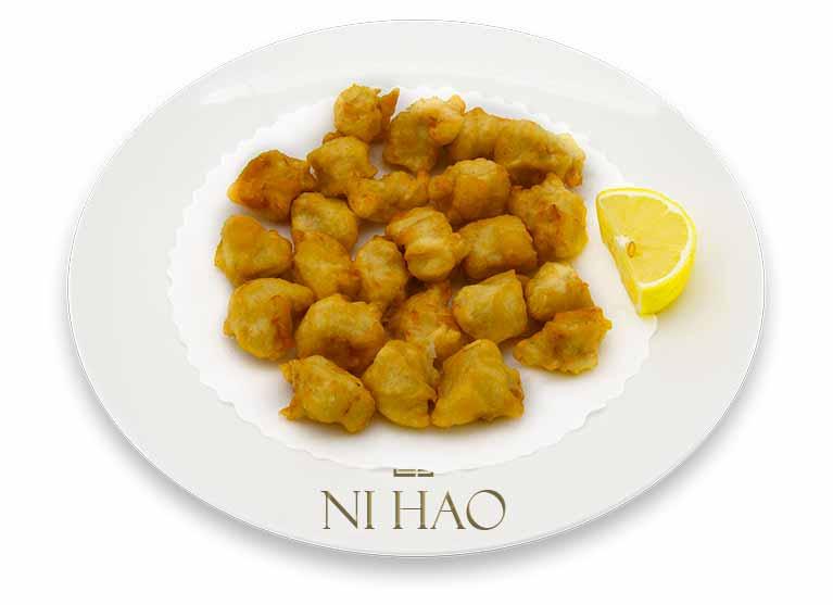 1.Bocconcini di pollo in tempura