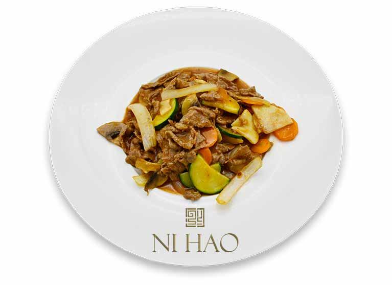 10.Vitello con verdure Ni Hao