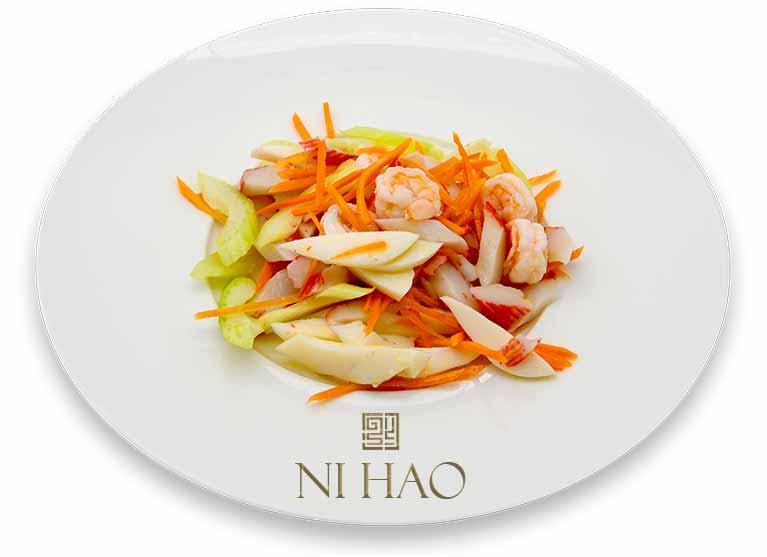 11.Antipasto misto di pesce Ni Hao