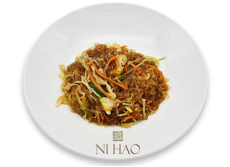 11.Spaghetti di soia con verdure piccante