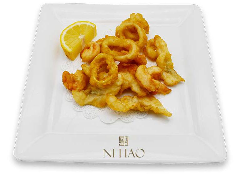3.Fritto misto di pesce in tempura