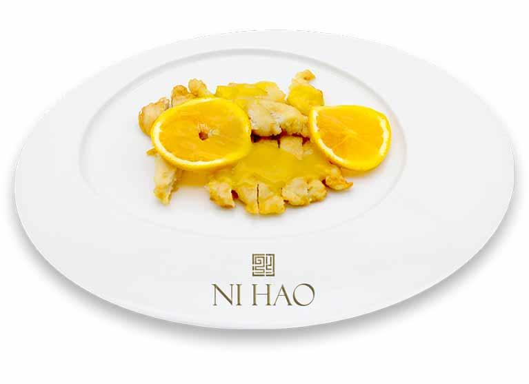 3.Pollo croccante con arance fresche