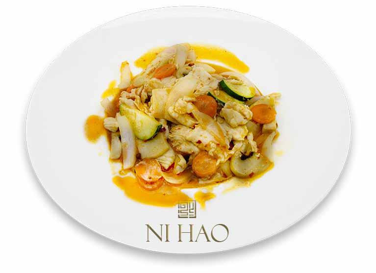 4.Pollo con verdure Ni Hao
