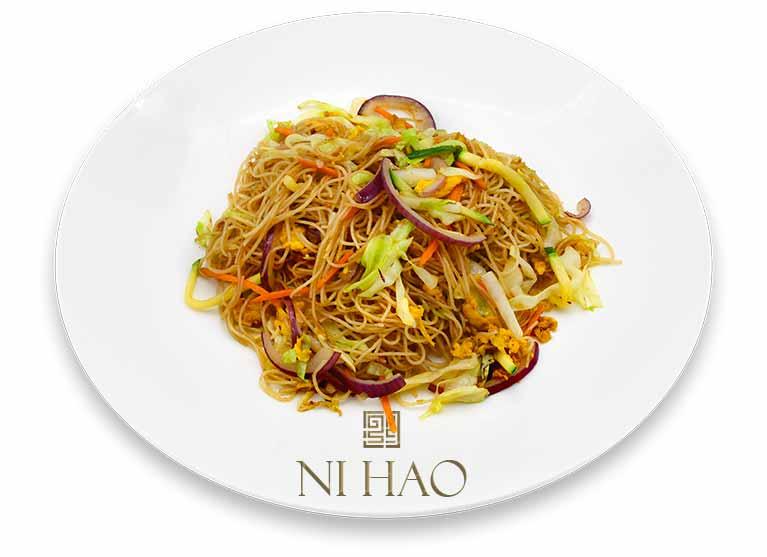 5.Spaghetti di riso con verdure