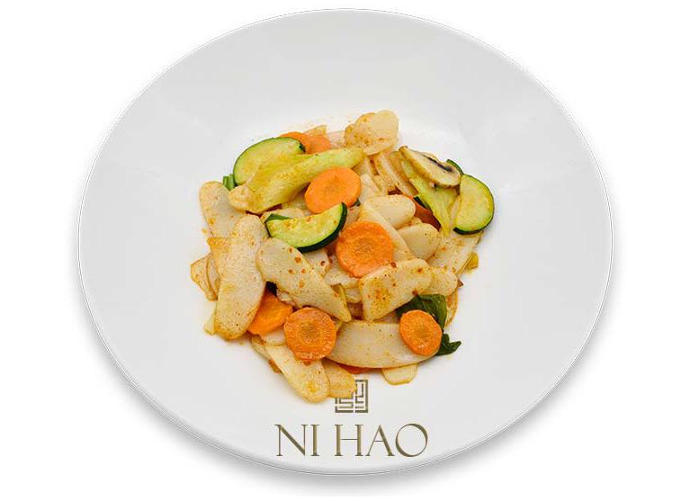 6.Gnocchi di riso con verdure