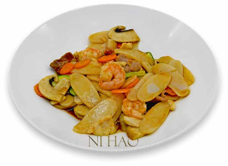 7.Gnocchi di riso ai tris Ni Hao